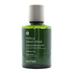 Cплэш-маска с зеленым чаем BLITHE Patting Splash Mask Soothing & Healing Green Tea