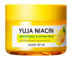 Ночная осветляющая маска Some By Mi Yuja Niacin Brightening Sleeping Mask